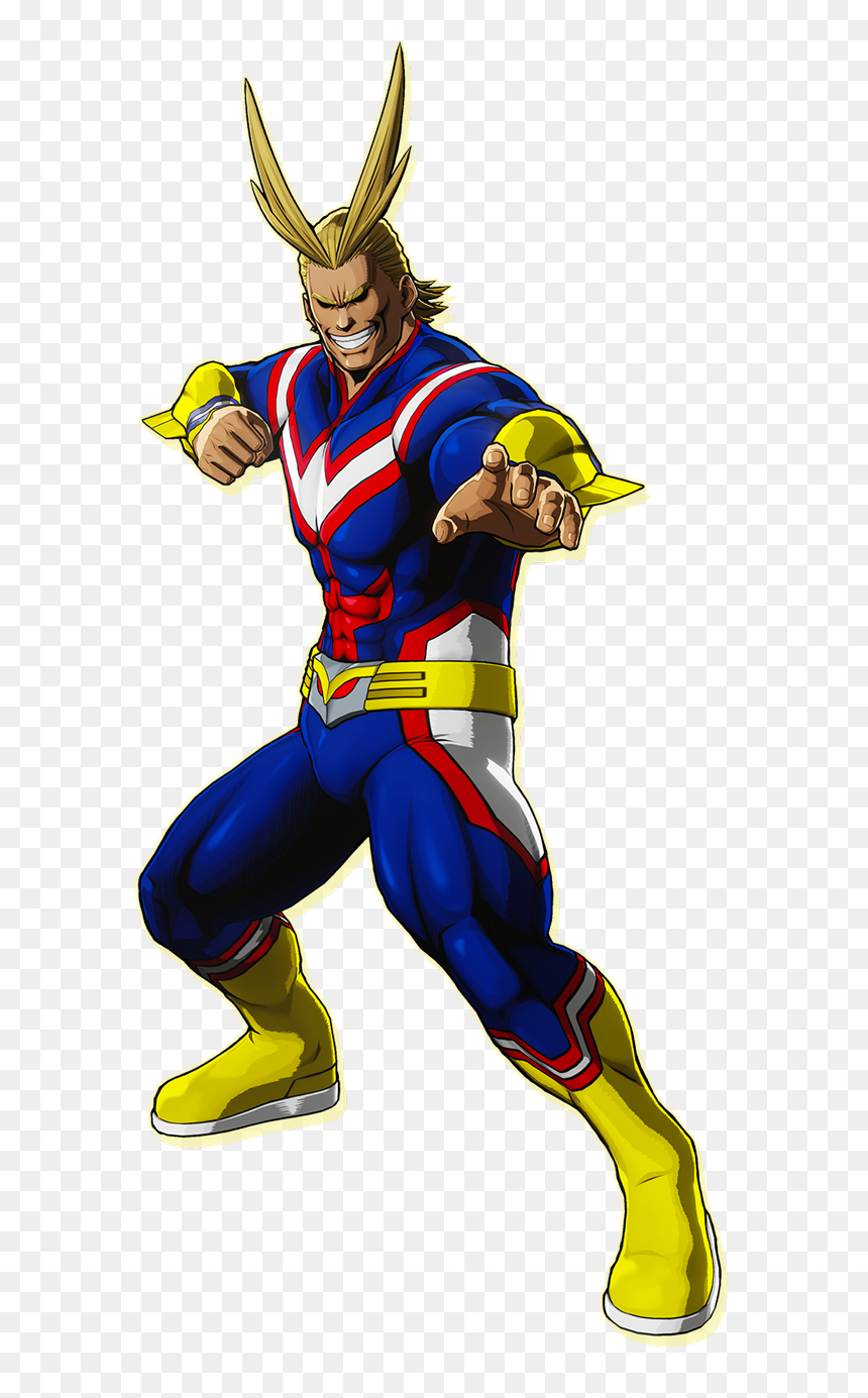 All Might Png One's Justice, Transparent Png