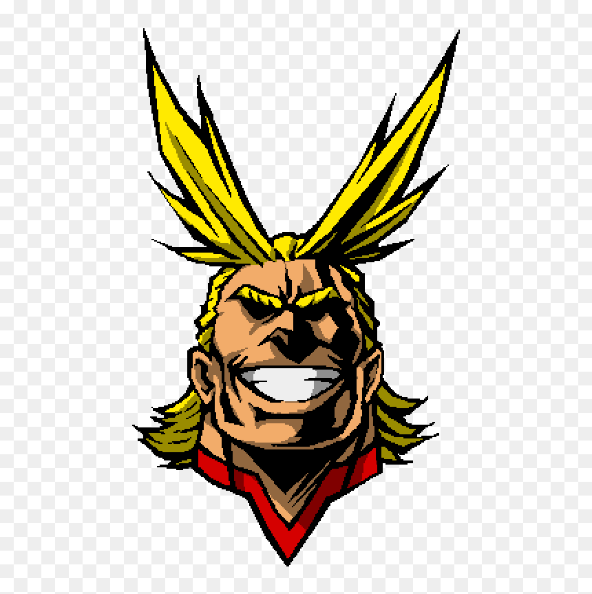 All Might Face With No Background, HD Png Download