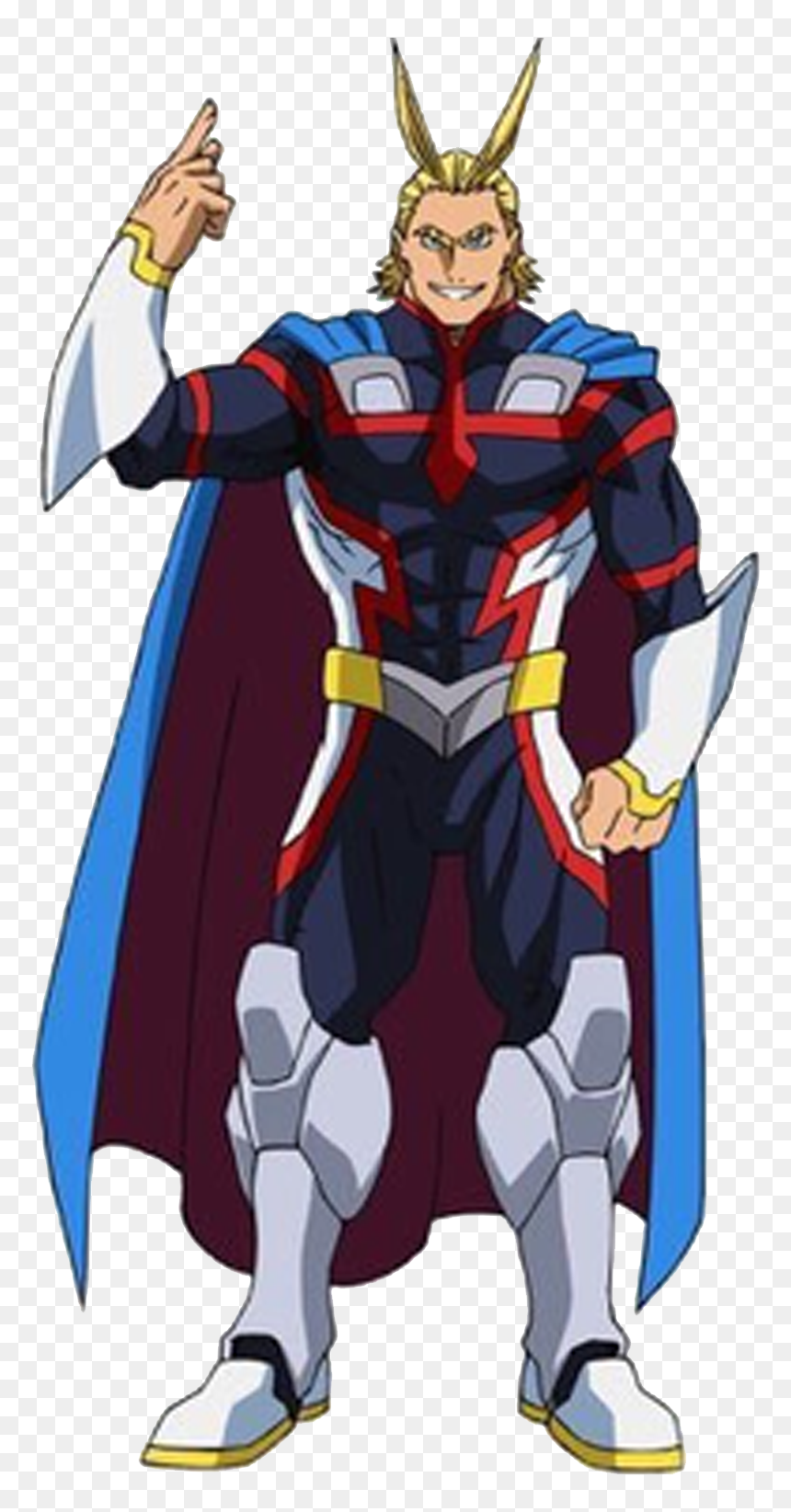 Young All Might My Hero Academia, HD Png Download