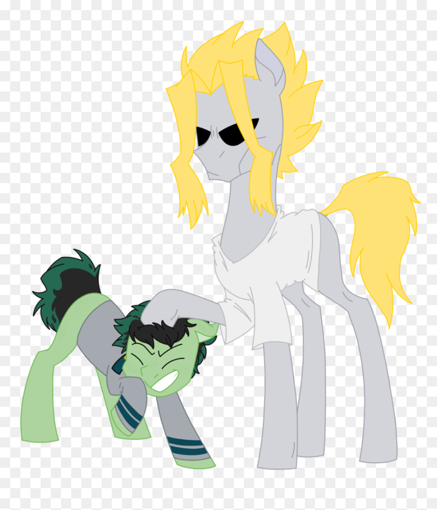 All Might Pony, HD Png Download