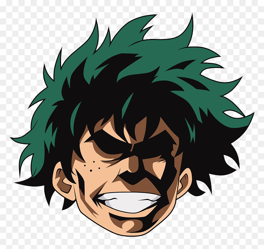 Deku All Might Face, HD Png Download