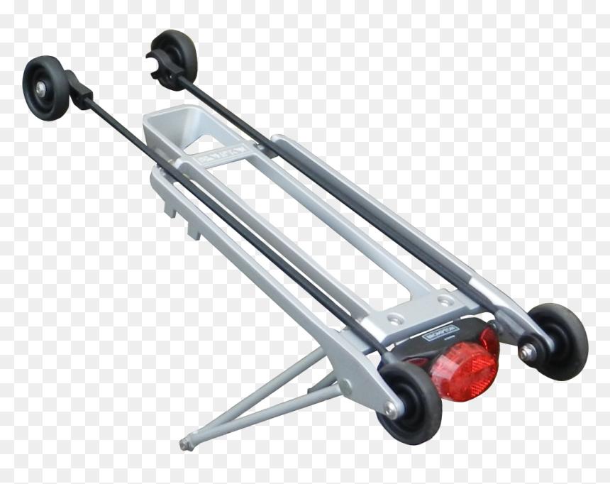 Brompton 2017 Rear Rack Guides Rollers Alpha - Using Brompton Rear Rack, HD Png Download