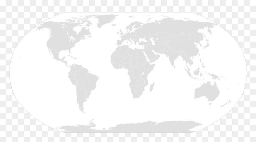 Blank World Map Ww2, HD Png Download