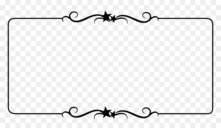 Top And Bottom Border, HD Png Download
