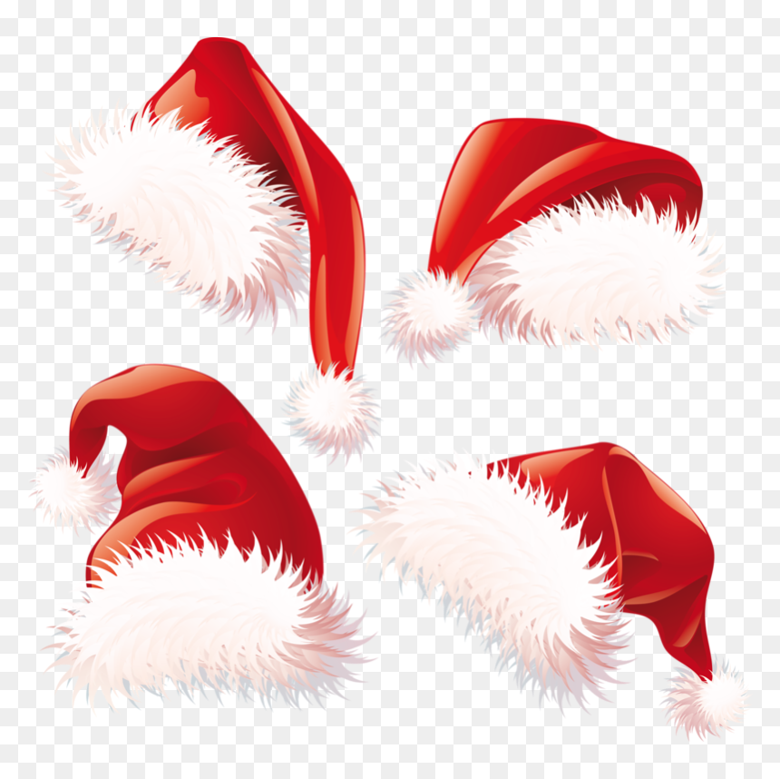 Vector Santa Hat Png, Transparent Png