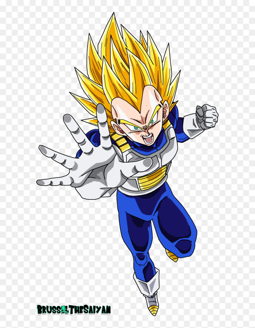 Vegeta Super Saiyan 2 Dbs Hd Png Download 615x1024 Png Dlf Pt