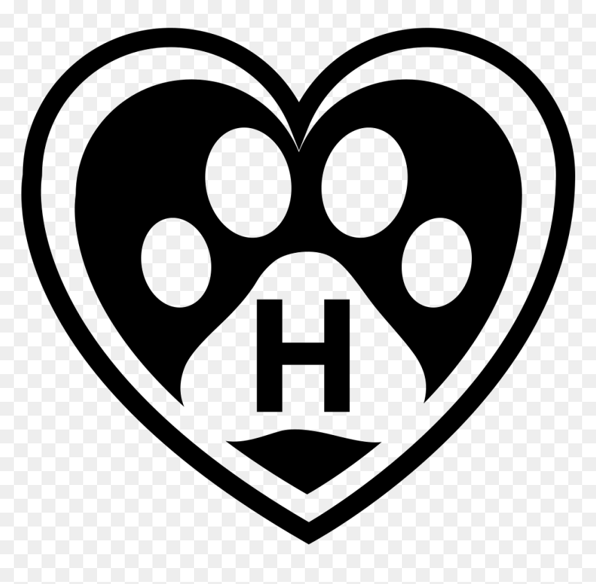 Pet Hotel Symbol Of A Heart With A Pawprint Inside Pet Hd Png Download 981x916 Png Dlf Pt Paw patrol illustration, paw patrol, paw patrol, paw, cartoon, play png. dlf pt
