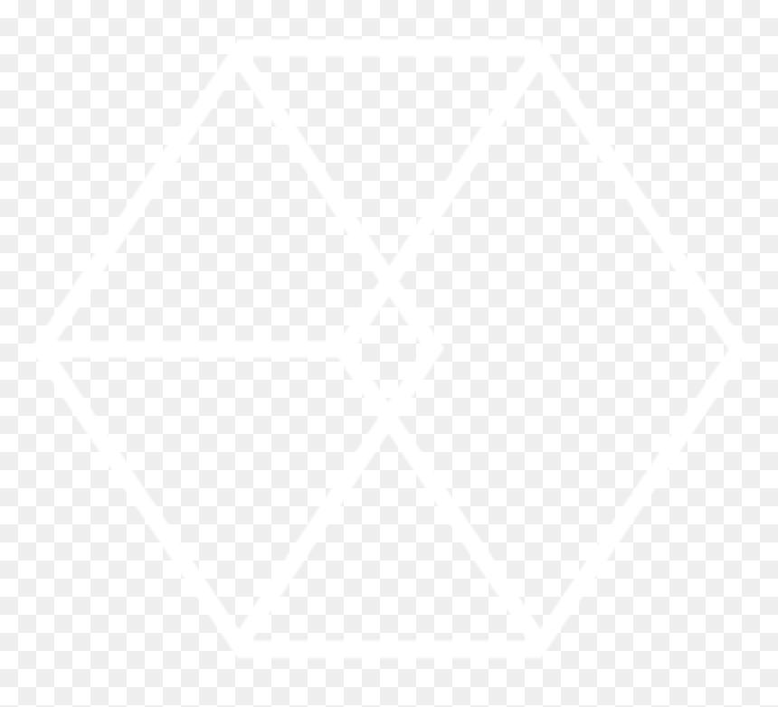 Exo Logo Transparent White, HD Png Download