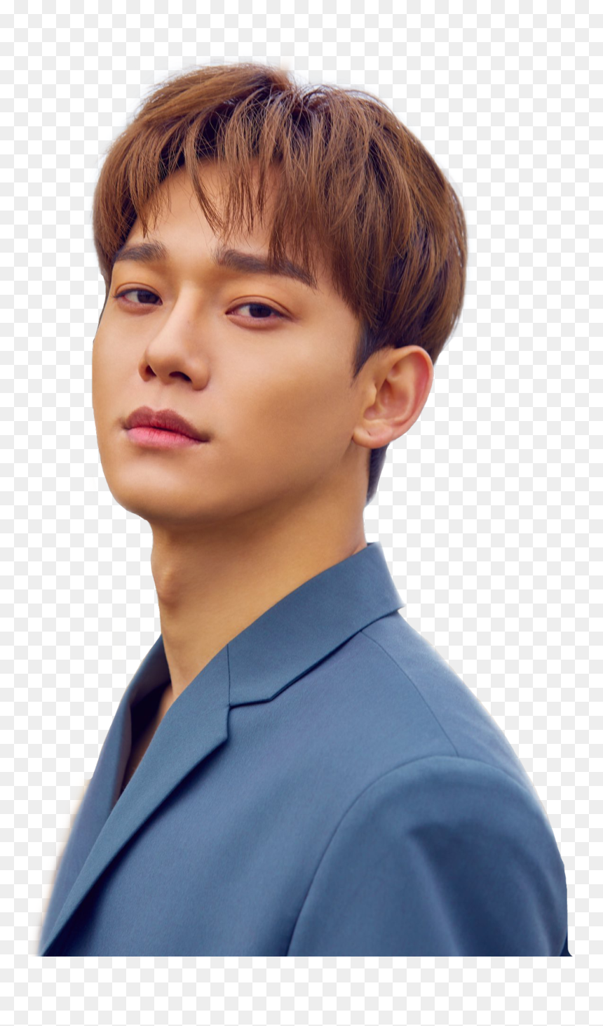 #chen #exo #beautifulgoodbye #handsome #asian #kimjongdae - Chen Exo April And A Flower, HD Png Download