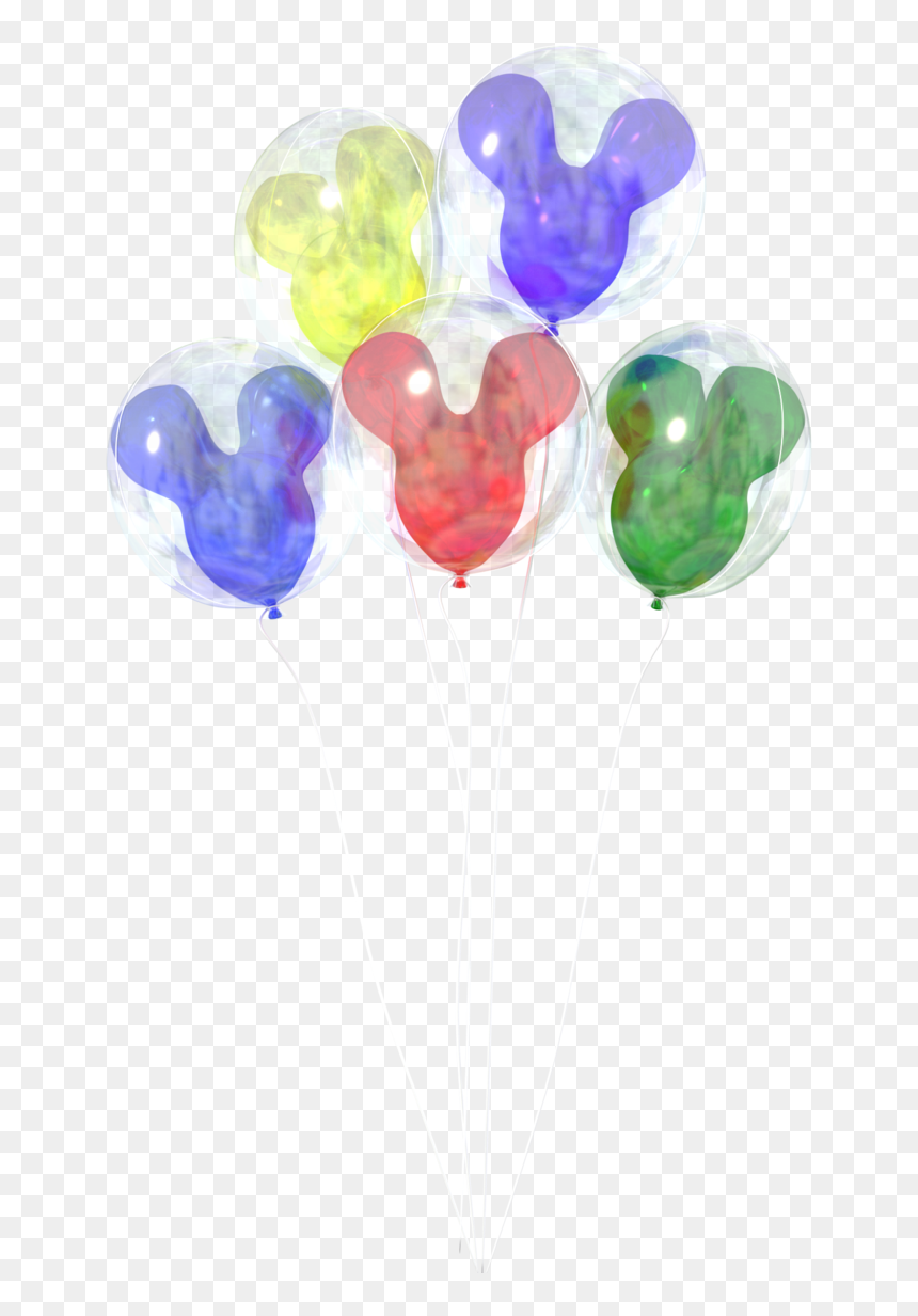 Disney Transparent Watercolor - Disney Balloons Transparent Background, HD Png Download