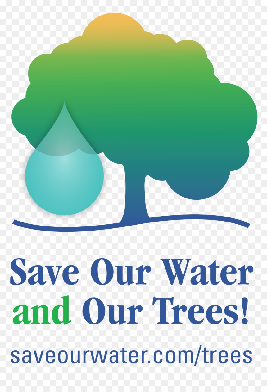 Save Tree Save Water, HD Png Download