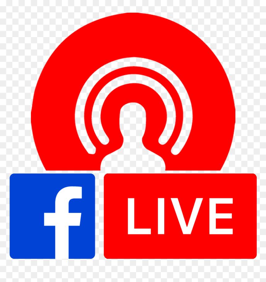 Facebook Live Logo Png Transparent, Png Download