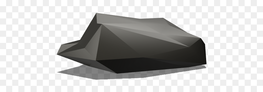Low Poly Rock - Triangle, HD Png Download