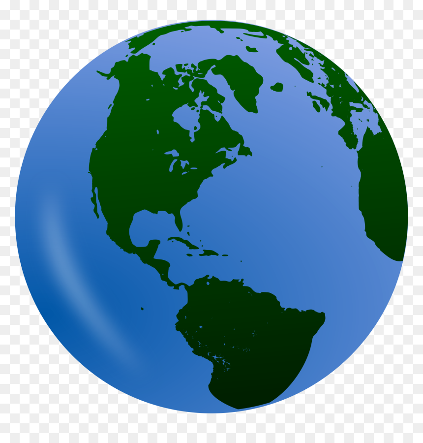 Clipart Of Globe With Transparent Background, HD Png Download