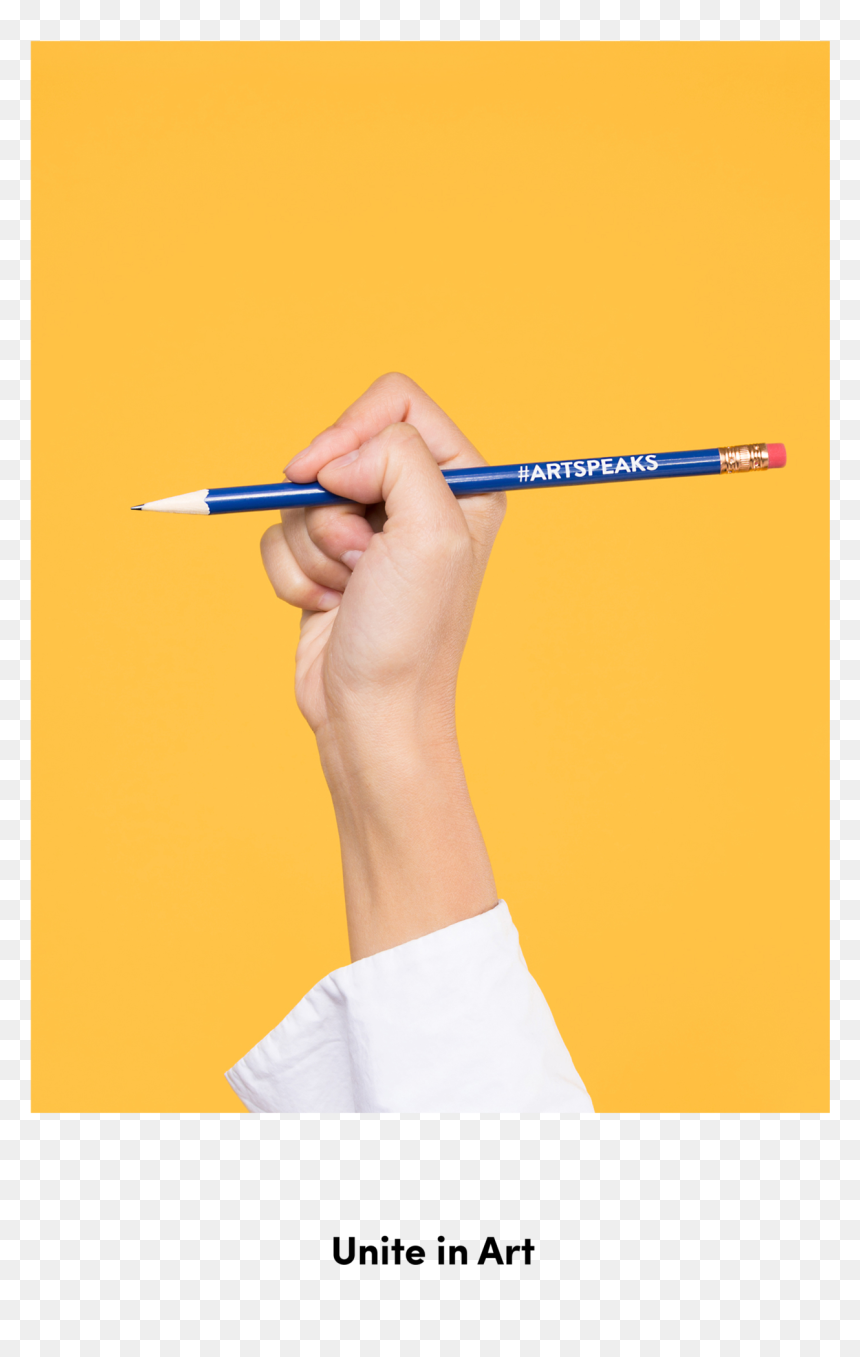 Hand Holding Art Speaks Pencil On Yellow Background Writing Hd Png Download 1740x2048 Png Dlf Pt Large collections of hd transparent hand pencil png images for free download. dlf pt