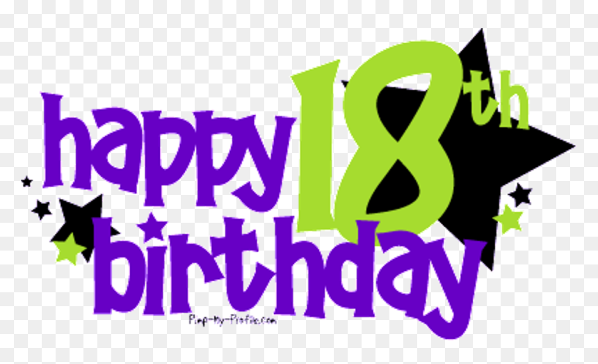 Eighteen Birthday Wishes - Happy Birthday 18 Guy, HD Png Download