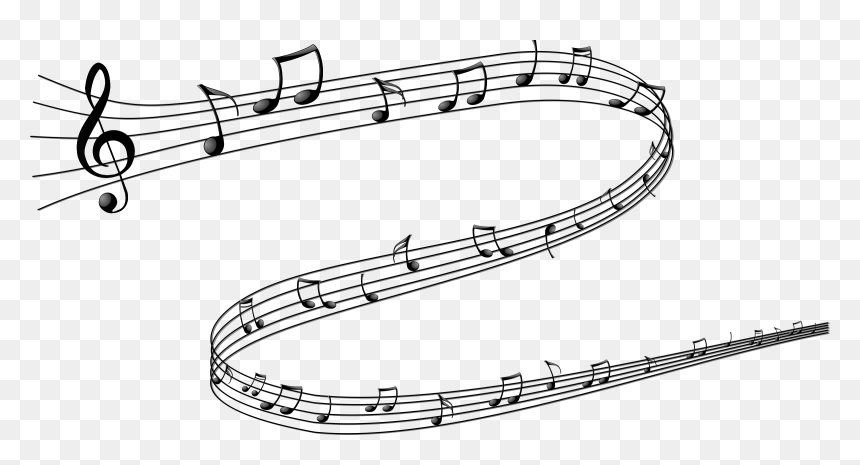 Transparent Background Music Notes Png, Png Download
