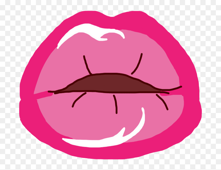 #tumblr #kiss #beso #kisses #besos #cute #lindo #pink, HD Png Download
