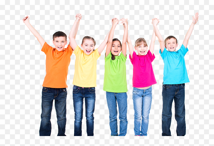 Stock Photography Child Hand Happiness - Kids Hands Up Png, Transparent Png