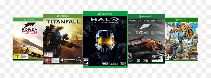 Xbox One Games Png, Transparent Png