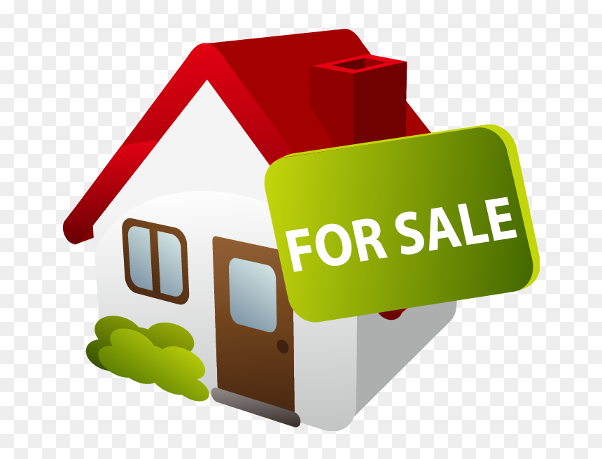 Transparent House For Sale Clipart - Sale House Png Clipart, Png Download