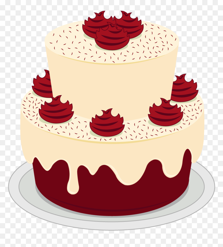 Red Velvet Birthday Cake Png Transparent Png 1024x1024 Png Dlf Pt
