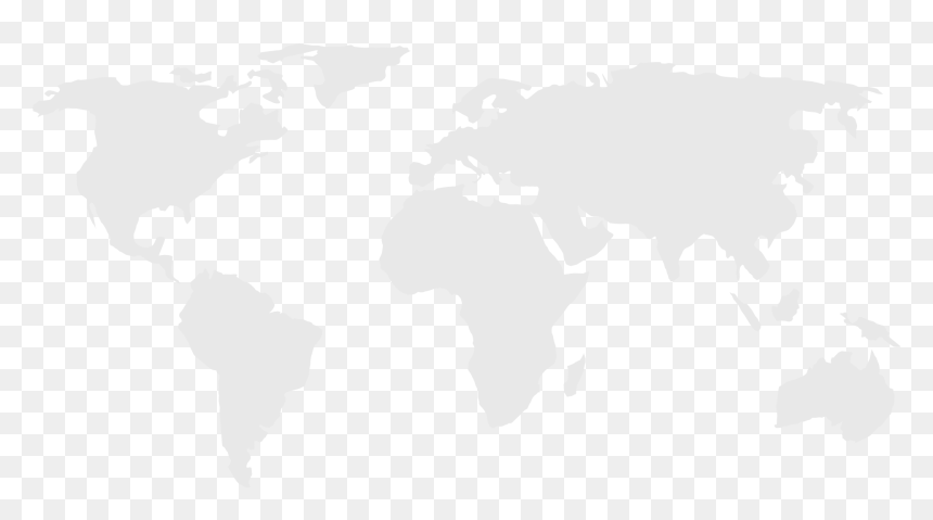 World Map Grey High Resolution, HD Png Download