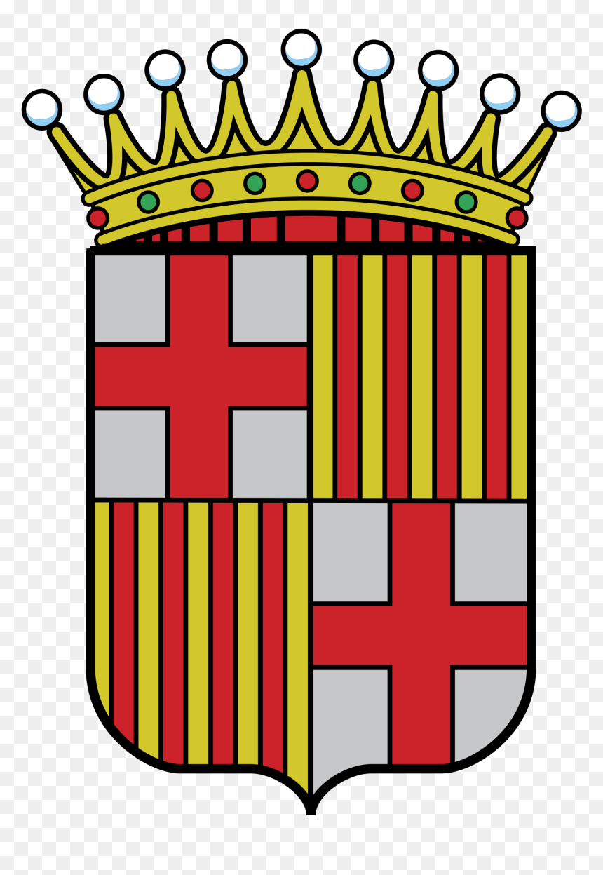 Barcelona Coat Of Arms, HD Png Download