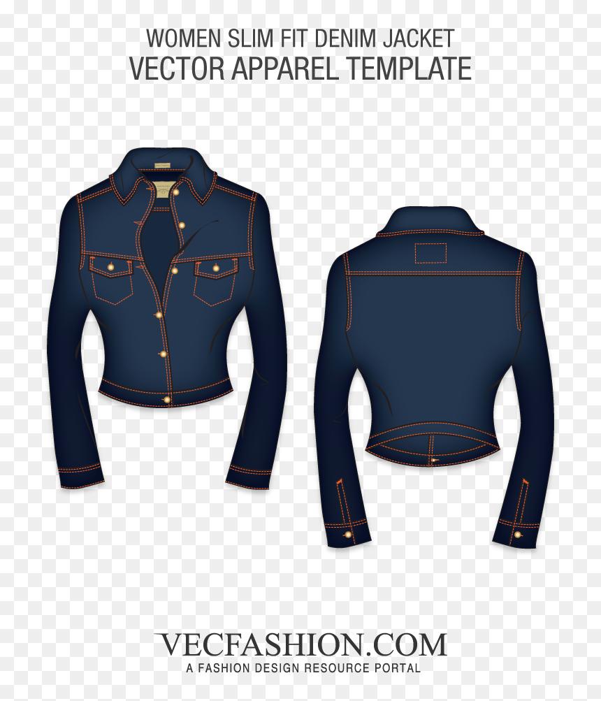 "Slim Fit Short Body Denim Jacket""  Class=""lazyload - Black Cargo Pants Template, HD Png Download"