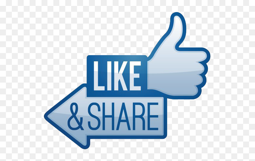 Like Share Subscribe Button Png Image File - Like And Share Png, Transparent Png