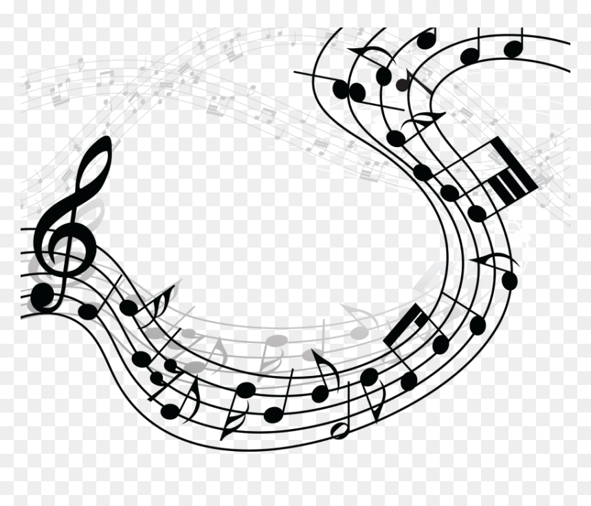 Free Png Download Music Notes Png Clipart Png Images - Transparent Background Musical Notes Clip Art, Png Download