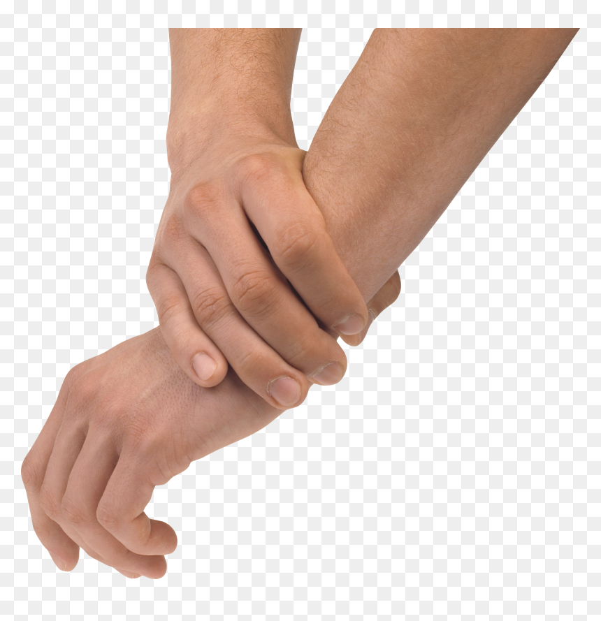 Picsart Edit Hand Png - Hand Holding Same Hand, Transparent Png