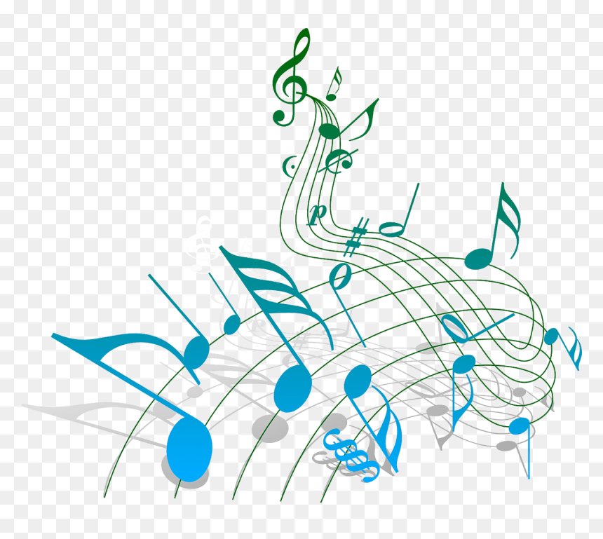 Music Notes - Melody Music, HD Png Download