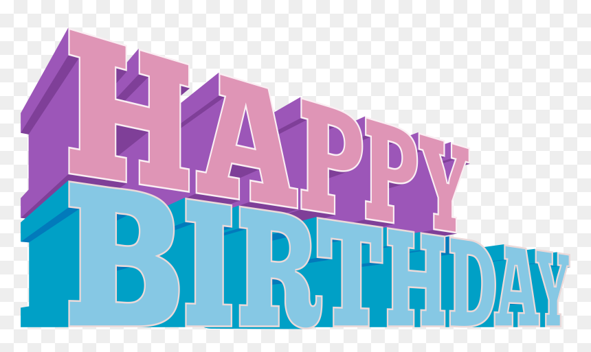 View Full Size - Happy Brithday Design Pngs, Transparent Png