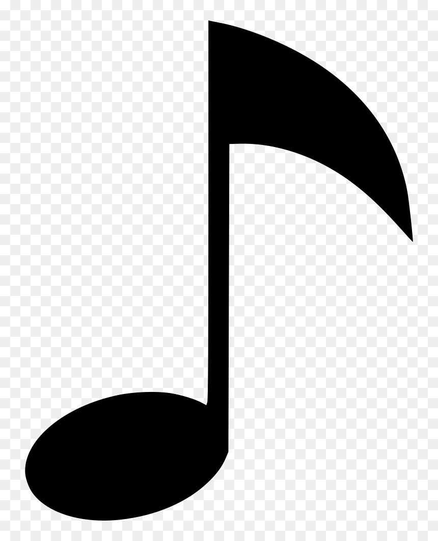 Music Note - Music Note Icon Png, Transparent Png