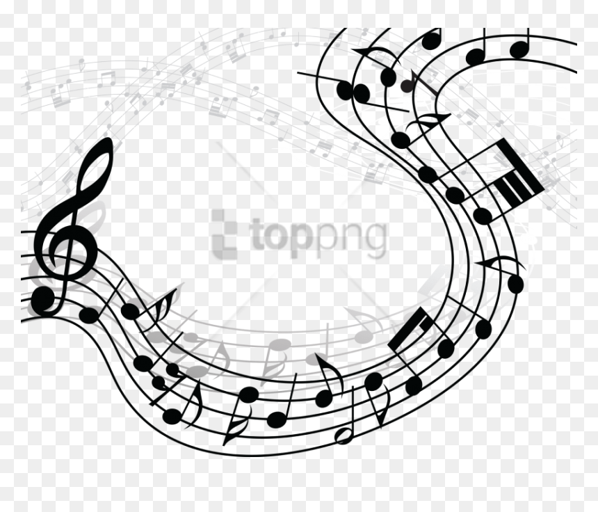 Free Png Music Notes Png Clipart Png Image With Transparent - Musical Notes Gif Png, Png Download