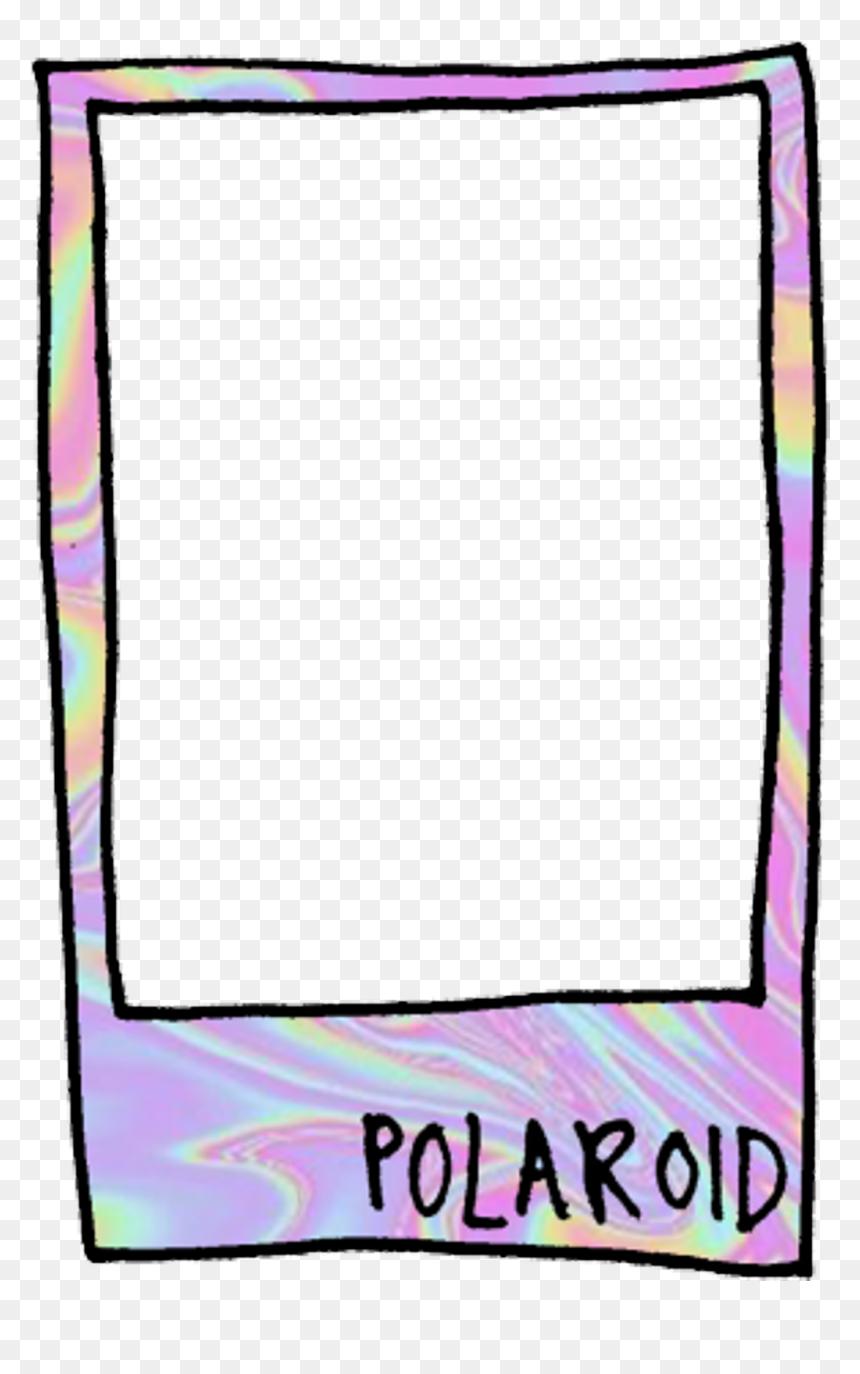 Polaroid Sticker Clipart , Png Download - Polaroid Tumblr Png, Transparent Png