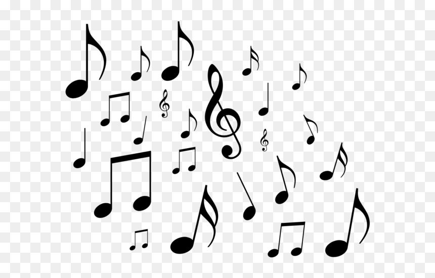 Musical Note Clip Art - Transparent Background Music Notes Clipart, HD Png Download