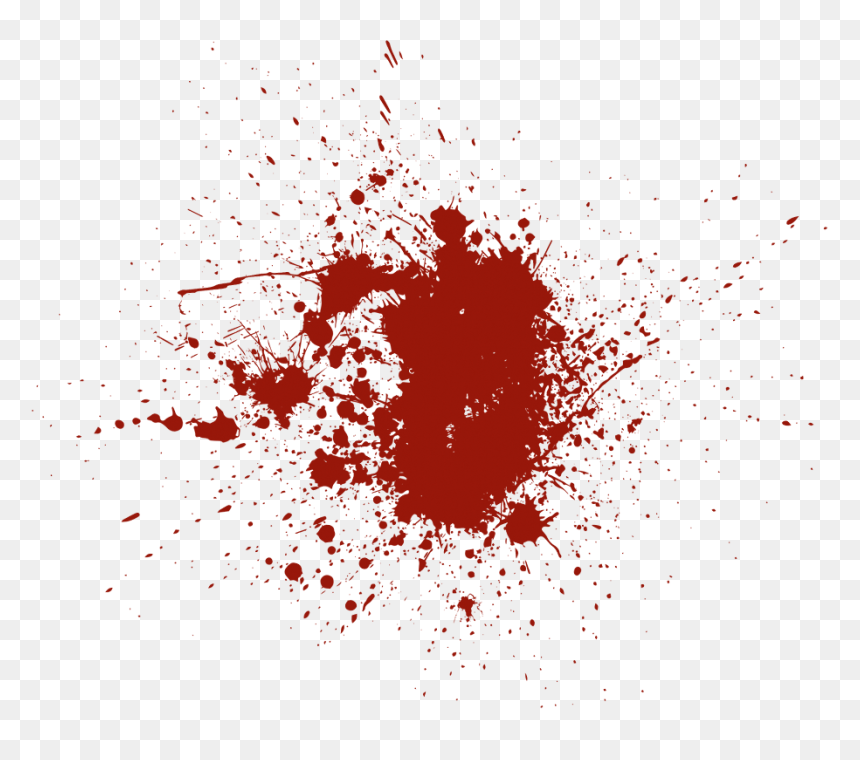 Blood Png Splashes Drip Horror Images - Blood T Shirt Roblox Png, Transparent Png