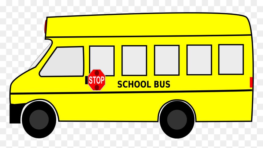 School Bus Clip Arts - School Bus Clip Art, HD Png Download