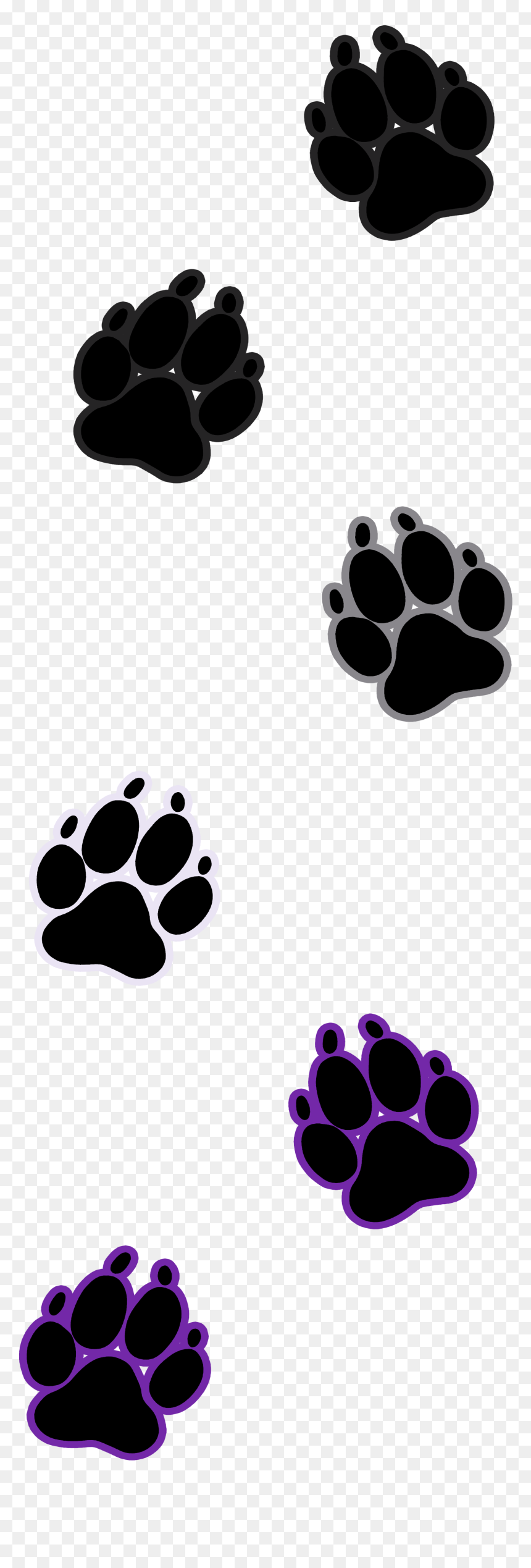 Transparent Dog Paw Outline Clipart Paw Prints Transparent Background Free Hd Png Download 1625x4721 Png Dlf Pt Please wait while your url is generating. dlf pt