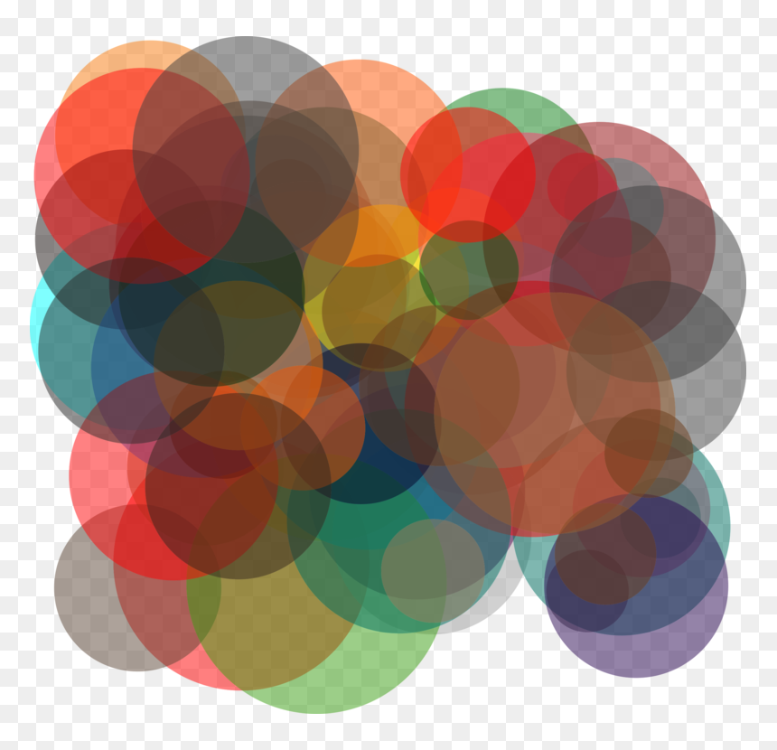 Overlapping Circles Grid Clipart Png Freeuse Circle,overlapping - Circles Overlapping, Transparent Png