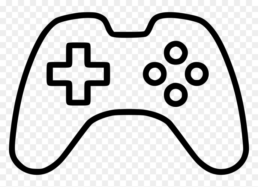 Console Controller Game Gameconsole Gaming Pad Play - Console Game Icon Png, Transparent Png