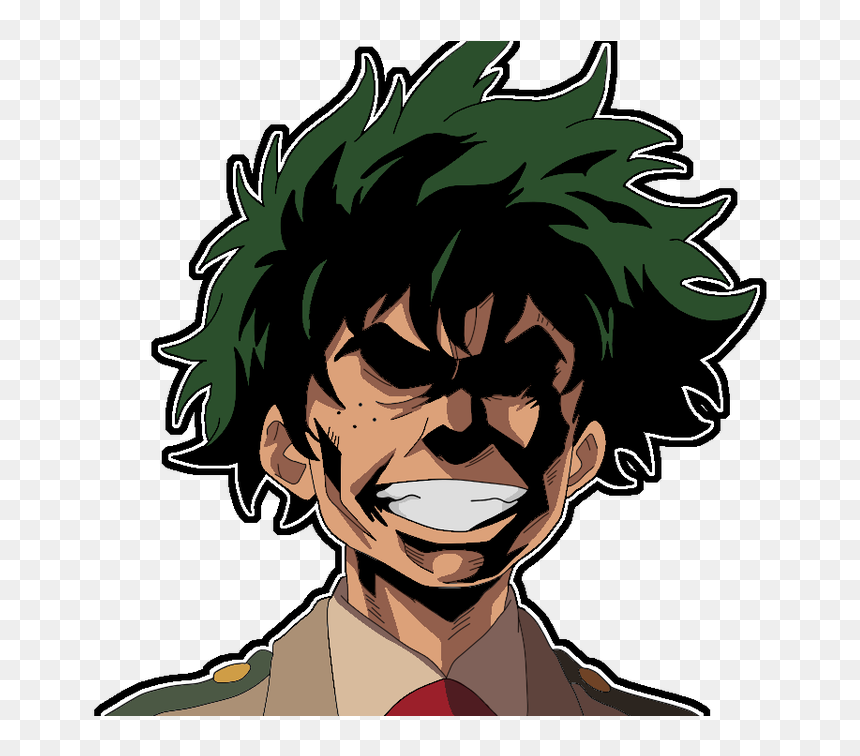 Cellenseres On Twitter - Deku All Might Face, HD Png Download