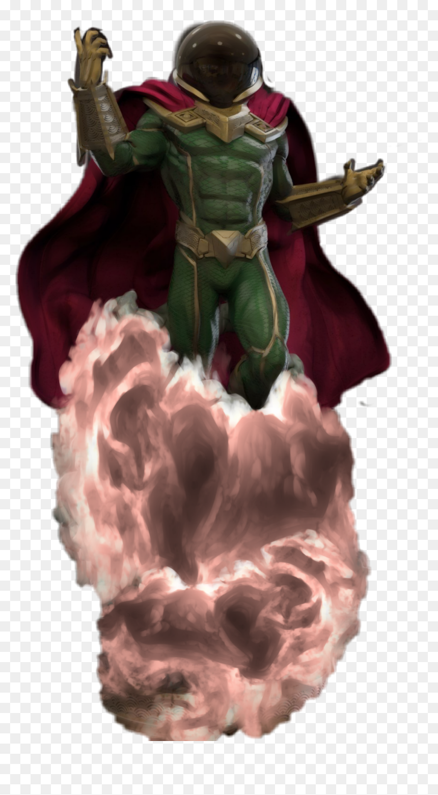 Transparent Spiderman Png Images - Mysterio Spiderman Png, Png Download