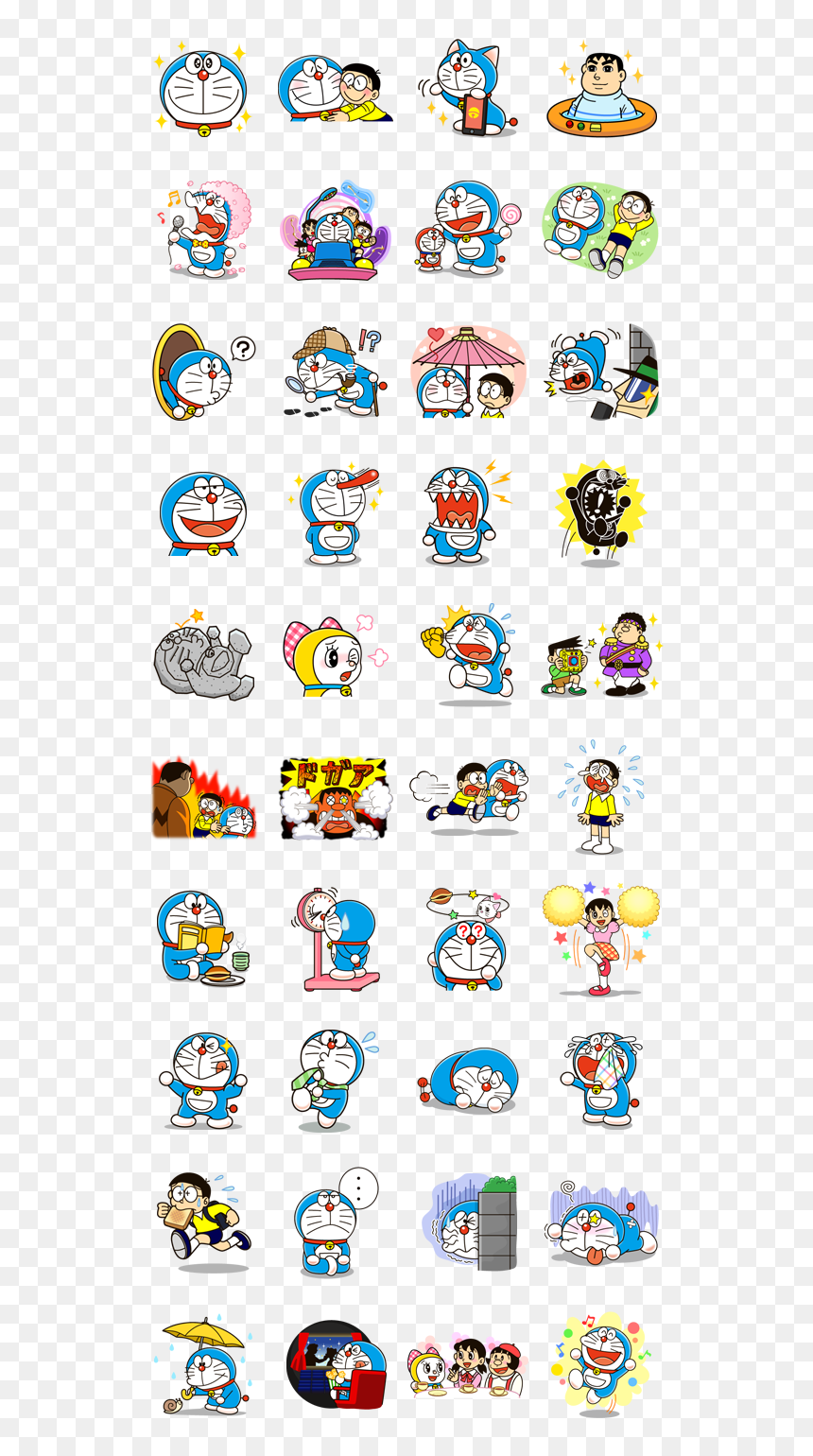 Doraemon Gadgets List With Names, HD Png Download ...