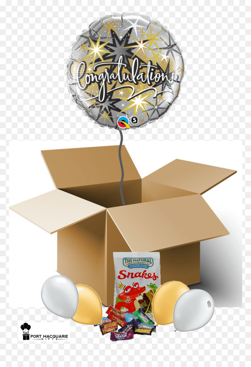 Transparent Black And Gold Balloons Png - Transparent Happy 50th Birthday Png, Png Download