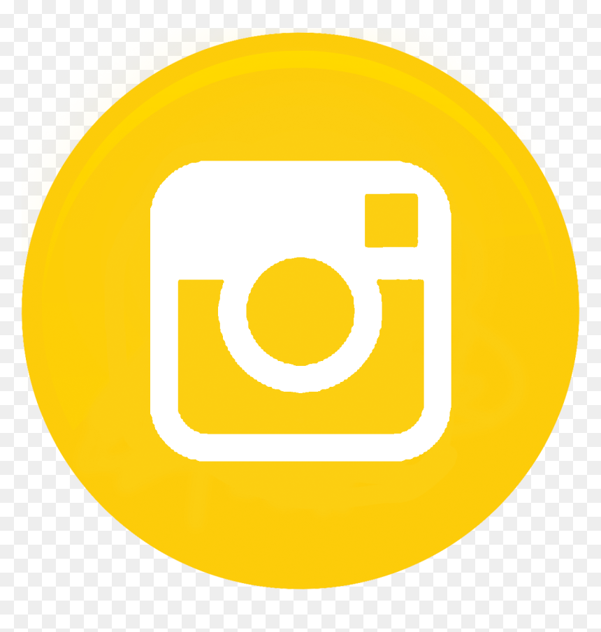 Yellow Instagram Icon Png , Png Download - Logo Insta ...