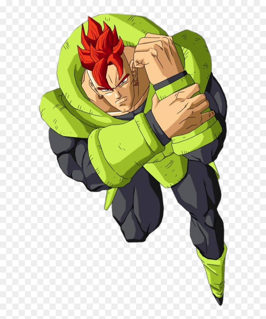 Dragon Ball Android - Android 16 Dragon Ball Super, HD Png Download