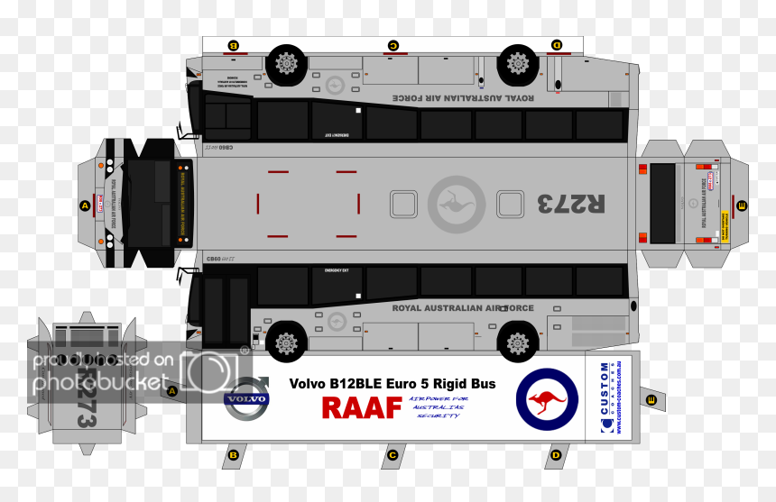 Coach Drawing Bus Volvo - Ab Volvo, HD Png Download
